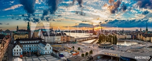 Picture of Panorama of  Stockholm, Sweden